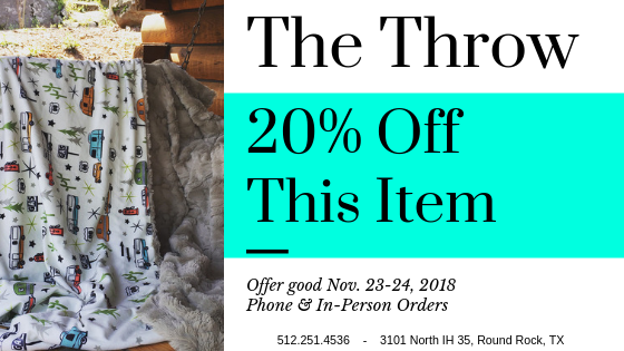 20percent Off This Item The Throw