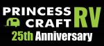 Princess Craft RV 25th Anniversary Logo
